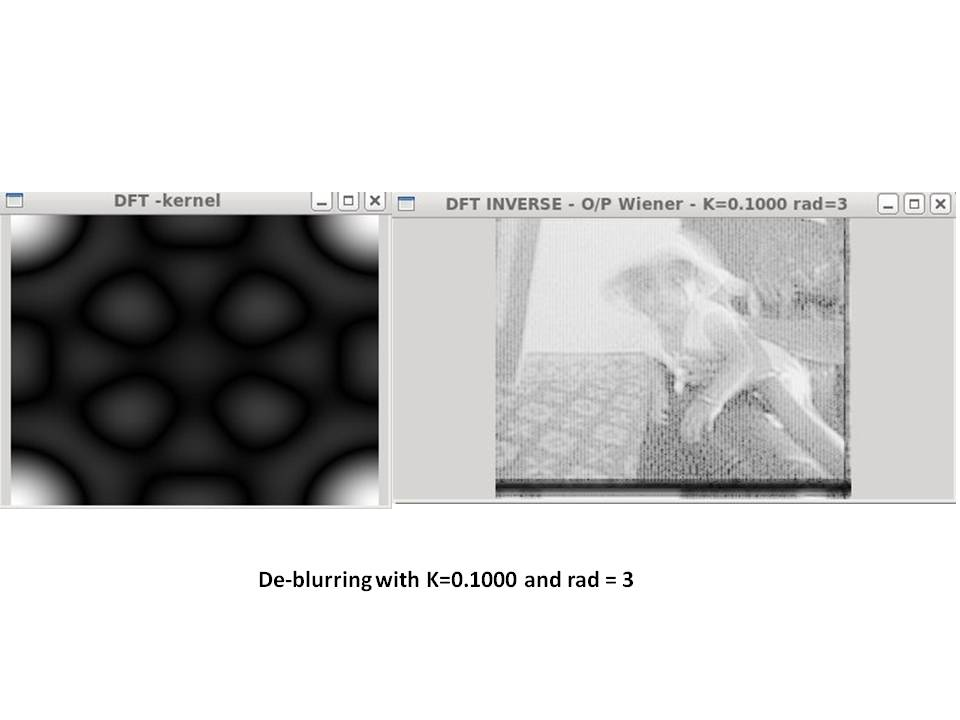 De-blurring revisited with Wiener filter using OpenCV – Giga thoughts …