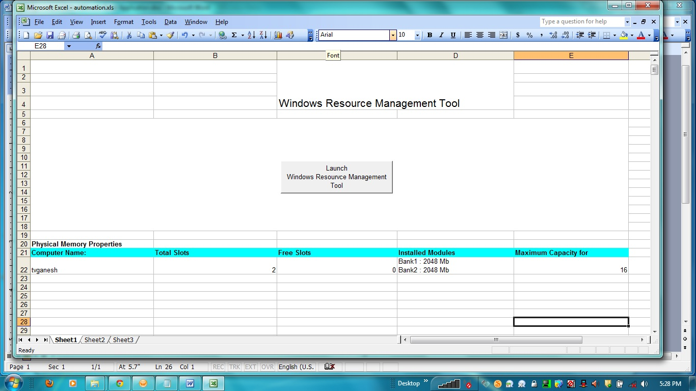 Name management vba - B Minimize Button Now That You Are Able To Launch The Vba Application From The Excel Spreadsheet You Will Also Want To Minimize The Vba Form To Check The