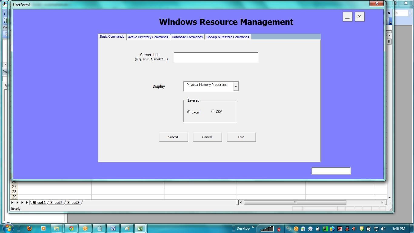 Name management vba - Here